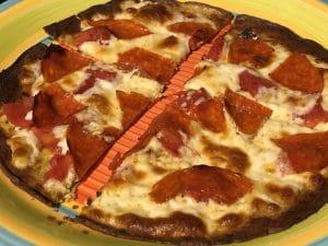 Kbosh pepperoni pizza