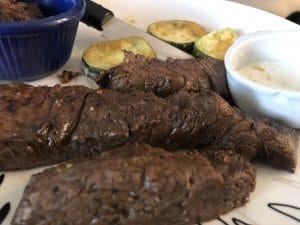 Keto Ginger and Soy Steak