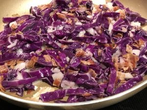 Keto Cabbage and Bacon