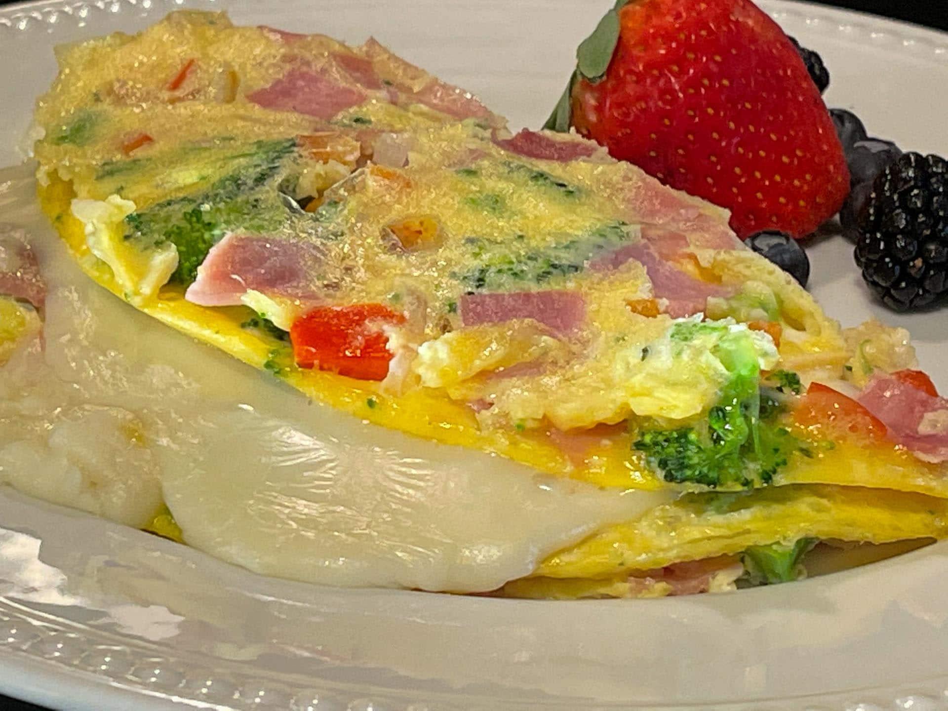 Keto omelet idea