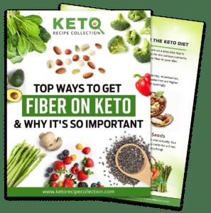 Image of PDF top ways to get fiber on keto