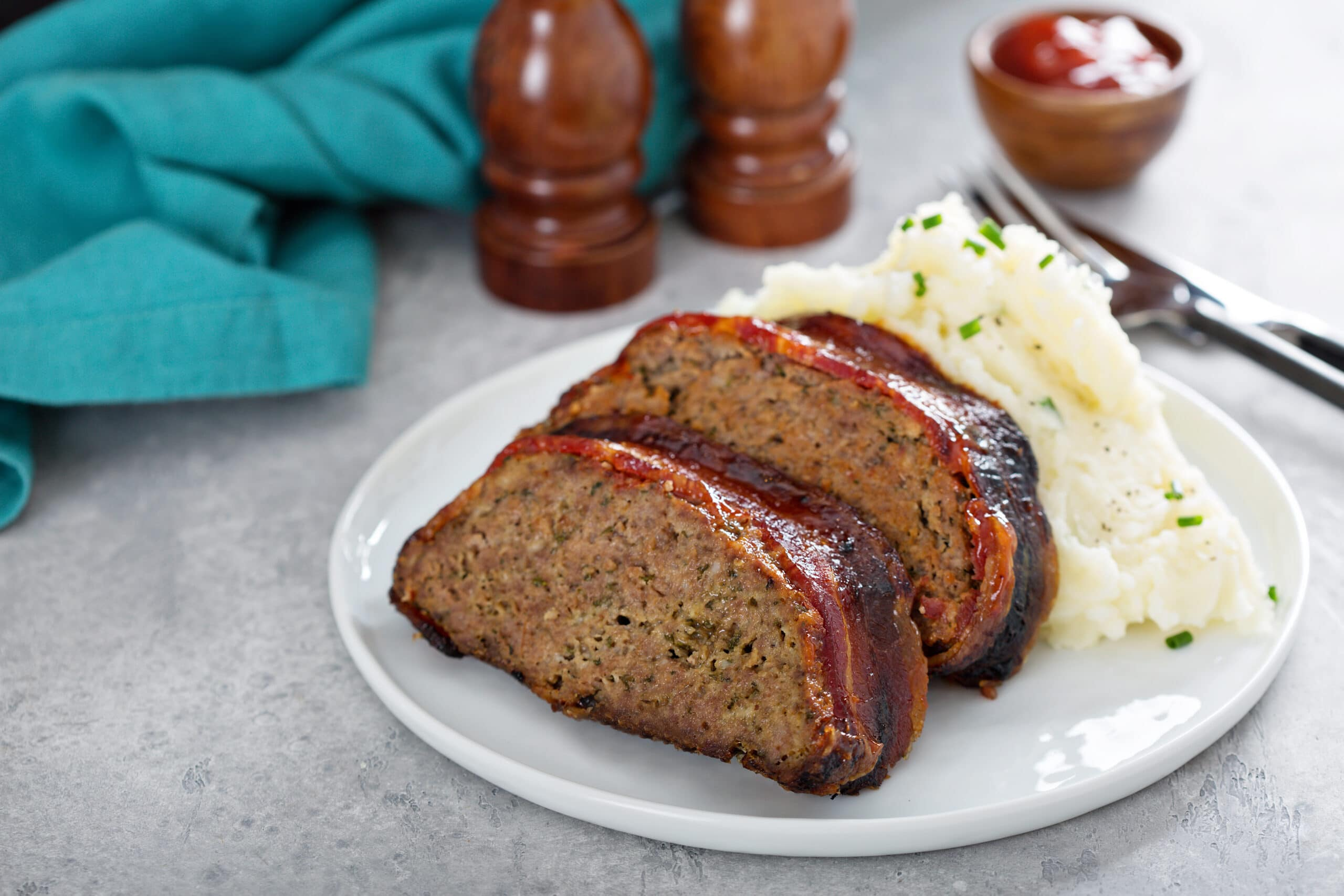 meatloaf wrapped in bacon